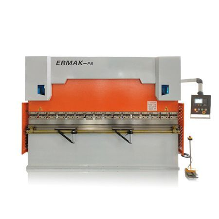 CNC hydraulic press brakes with DELEM E210 controller